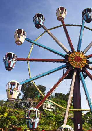 playground rides: Ferris Wheel at Genting Highland