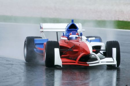 A1 Grand Prix motorsport racing. Stock Photo