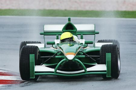 grand prix: A1 Grand Prix motorsport racing. Stock Photo