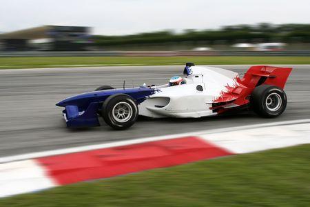 motorsport: A1 Grand Prix motorsport racing. Stock Photo
