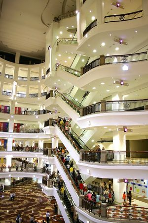 Shopping Center Interior