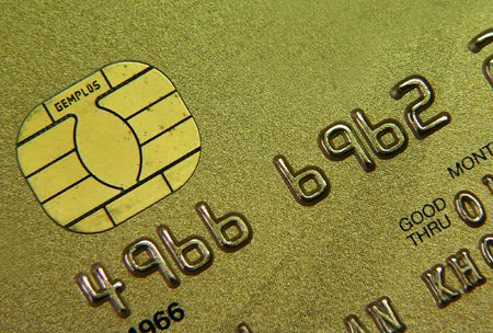 Credit card close up Stock Photo - 594047