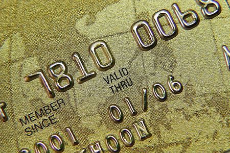 Credit card close up Stock Photo - 594046