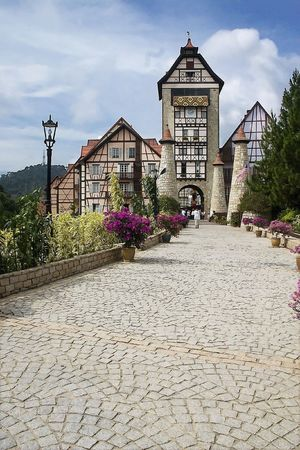 french way: French Castle in Bukit Tinggi, Malaysia.