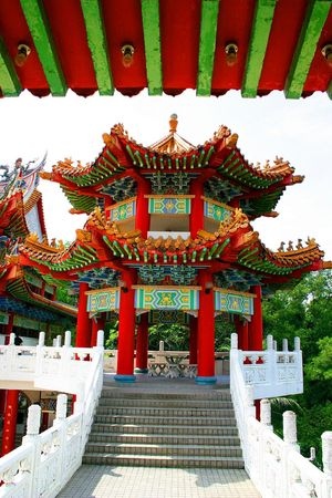godliness: Chinese Temple in Malaysia.