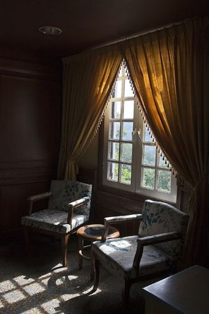 French Style Interior Stock Photo