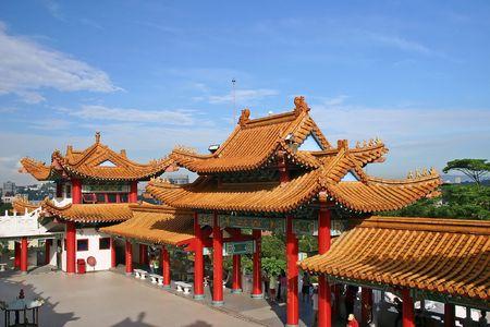 Thean Hou Temple in Kuala Lumpur, Malaysia.