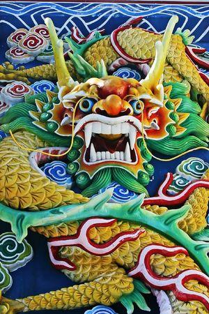 godliness: Chinese Dragon Close up Stock Photo
