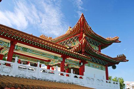 workship: Thean Hou Temple in Kuala Lumpur, Malaysia.