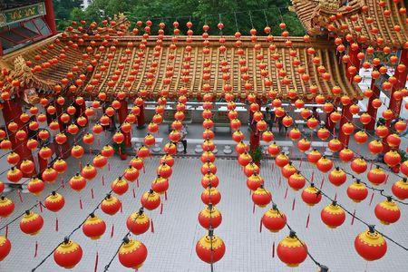 godliness: Thean Hou Temple in Kuala Lumpur, Malaysia.