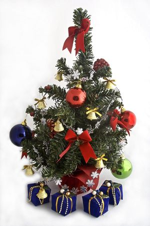 Christmas tree decoration Stock Photo - 593658