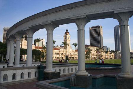 Sultan Abdul Samad Building in Kuala Lumpur Malaysia. photo