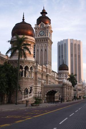 congregational: Sultan Abdul Samad Building in Kuala Lumpur Malaysia. Stock Photo