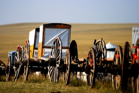 migrate: Migration transport in Inner Mongolia, use to migrate from one place to another.