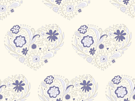seamless pattern. Endless texture can be used for wallpaper, textile, pattern fills, web page background. Ilustracja