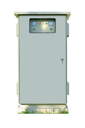 redes electricas: Caja de conexiones el�ctricas, Foto de archivo