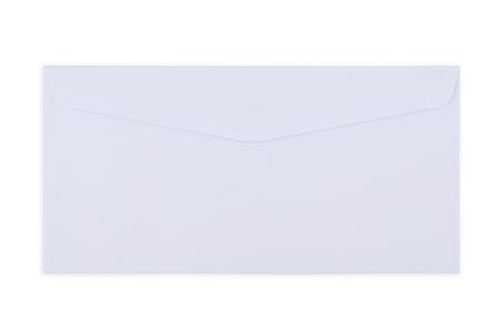 weiß Umschlagdokument auf weißem Hintergrund Lizenzfreie Bilder