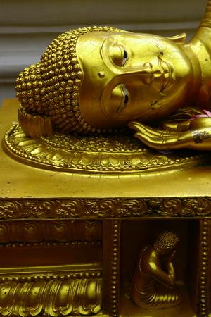 Sleeping Buddha in Thailand photo