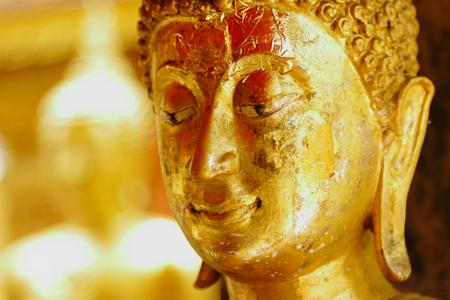 Buddha at Doi Suthep in Chiang-Mai Thailand photo