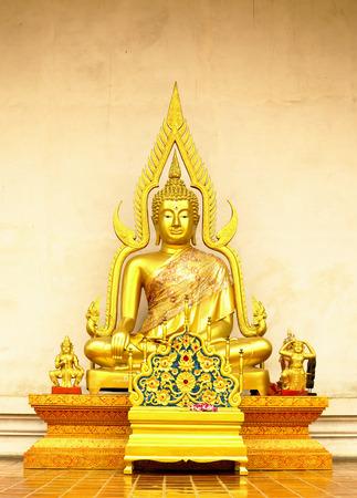 Buddha Temple in Chiang-Mai Thailand photo