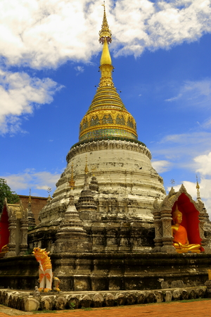 Temple in Chiang-Mai Thailand photo