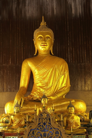 Buddha In Chiang Mai Thailand photo