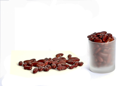 Red bean for decoration photo