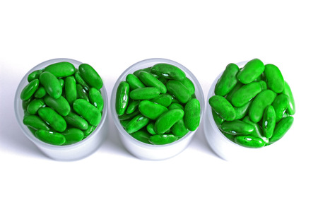 green bean: Green bean for decoration