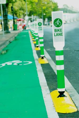 bike lane: Bike lane symbol