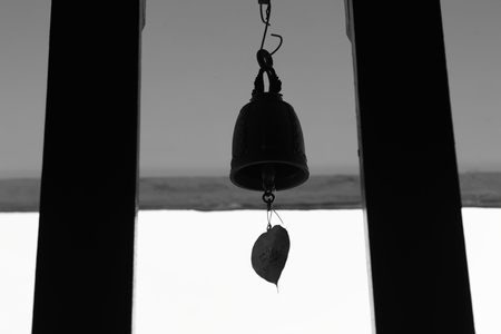 Bell in Thailand Temple photo