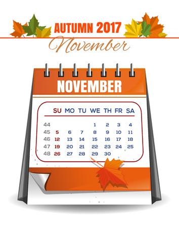 event planner: Autumn 2017 Illustration