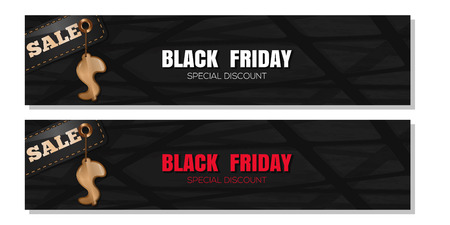 Black Friday banner set
