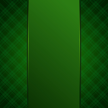 Green blank, template, background for your design. Green banded background concept. Vector illustration