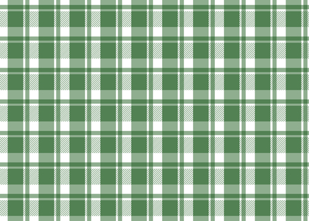 Red checkered tablecloth. Red gingham seamless pattern. Texture from squares for plaid, tablecloths and other textile products. Vector illustration Çizim