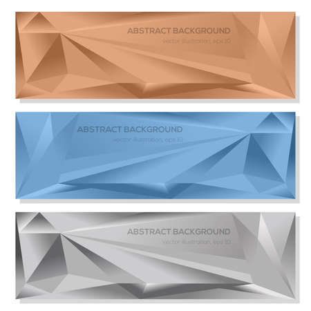 Set abstract geometrical vector card for design Иллюстрация