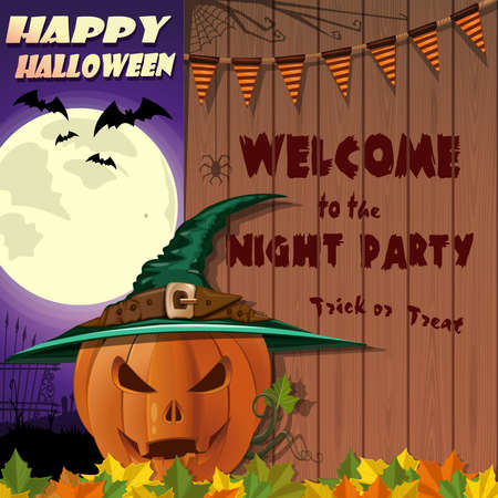 Happy Halloween. Welcome to the night party