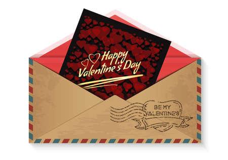 Romantic design for Valentines Day. Vector icon