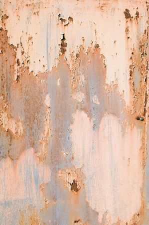 cracky: rusty pattern with cracky color Stock Photo