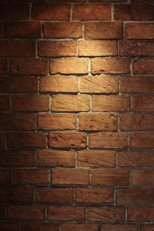 wall textures: Shined brick wall