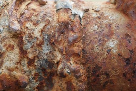 Rust texture, grunge wall background photo