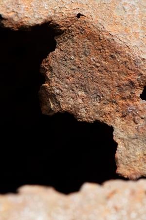 Rust texture, grunge background photo