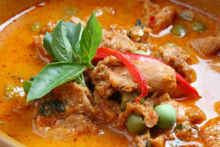 curry chicken: Thai dish, chicken in red curry
