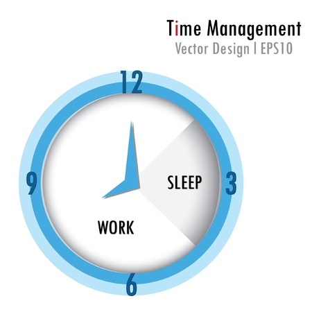 Time management Stock Vector - 16679090