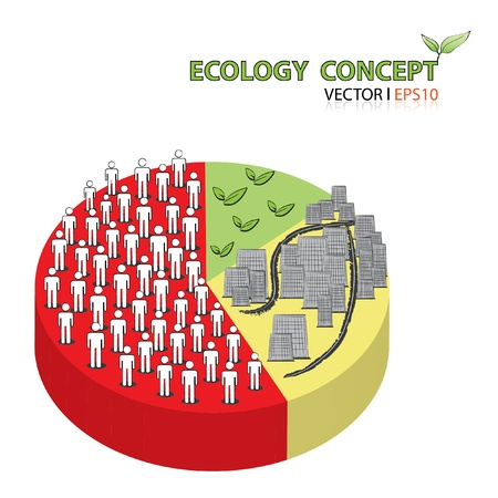 citizenry: Ecology Concept Illustration