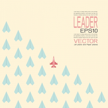Leadership, vector Vector