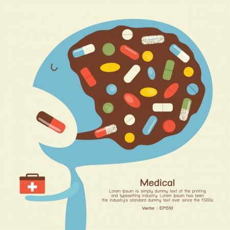Medicine icon  Stock Vector - 18677436