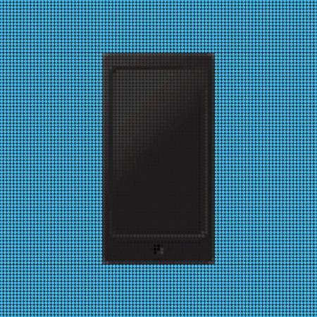 Smartphone dot Stock Vector - 18966298