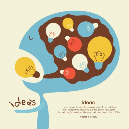 idea icon: Idea conceptual
