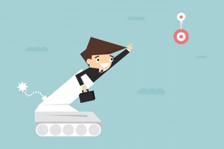 Motivation, business concept Stock Vector - 23123527