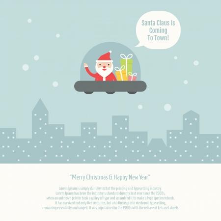 Christmas Greeting Card, vector EPS10 Vector